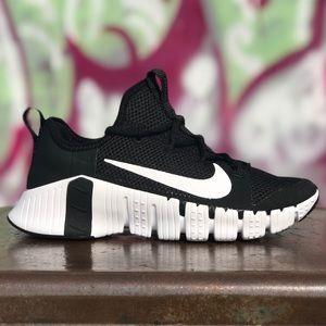 Nike Free Metcon 3 Black Cross Training Gym Shoes